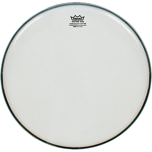 Remo Smooth White Ambassador Batter Drumhead  16 in.