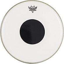 Remo Smooth White Control Sound Top Black Dot