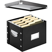 Vaultz Snap-N-Store Letter File Box