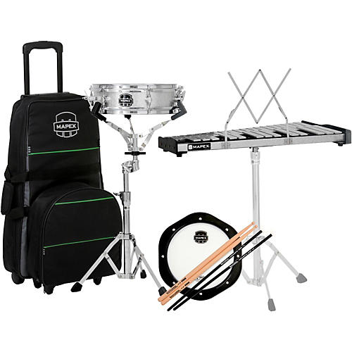 Mapex Snare Drum/Bell Percussion Kit with Rolling Bag-thumbnail