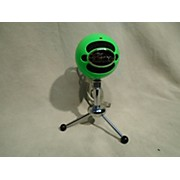 BLUE Snowball Green USB Microphone