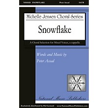 National Music Publishers Snowflake SATB a cappella composed by Peter Assad
