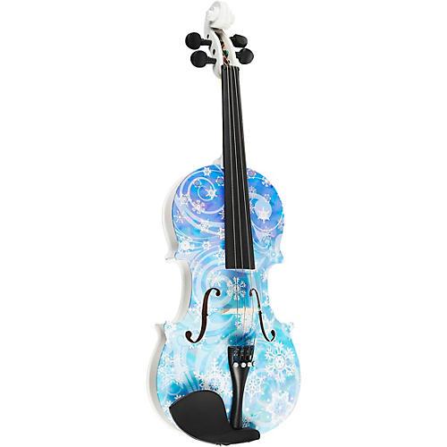 Rozanna's Violins Snowflake Series Violin Outfit-thumbnail