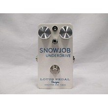Lotus Snowjob Underdrive Effect Pedal