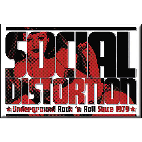 C&D Visionary Social Distortion Logo Magnet-thumbnail