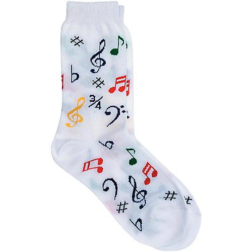 AIM Socks Women's Multi Note