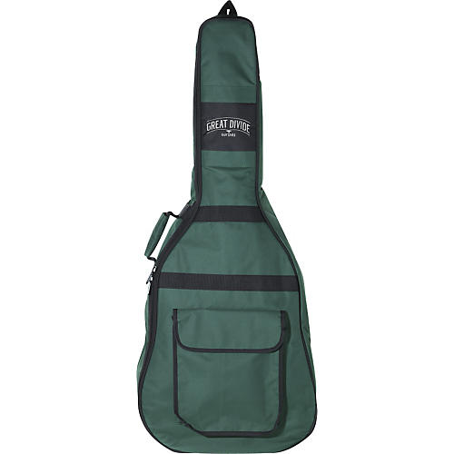Great Divide Soft-Padded Backpack-Style Acoustic Guitar Gig Bag (Jumbo)