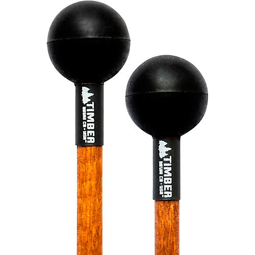 Timber Drum Company Soft Rubber Mallets Birch Handles