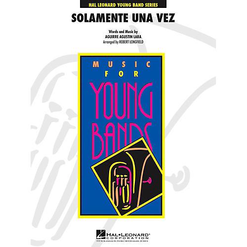 Hal Leonard Solamente Una Vez - Young Concert Band Level 3