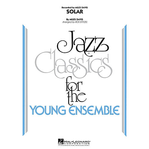 Hal Leonard Solar - Jazz Classics For The Young Ensemble Level 3-thumbnail