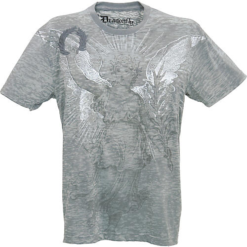 Dragonfly Clothing Company Soldiers Unite Embroidered Burnout Men's T-Shirt