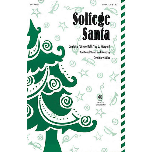 Hal Leonard Solfege Santa ShowTrax CD Composed by Cristi Cary Miller