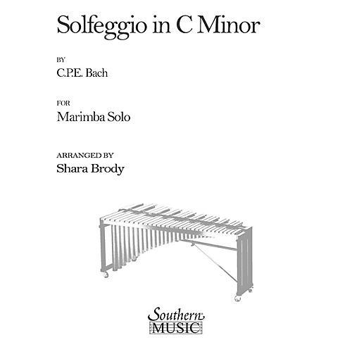 Hal Leonard Solfeggio In C Minor (Percussion Music/Mallet/marimba/vibra) Southern Music Series by Sharda Brody