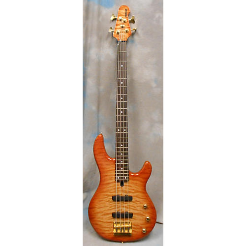 Yamaha Solid Body Electric Bass Guitar Trans Orange