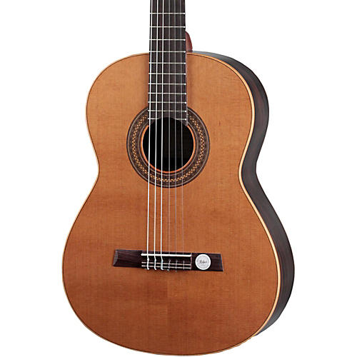 Hofner Solid Cedar Top Laurel Body Classical Acoustic Guitar High Gloss Natural