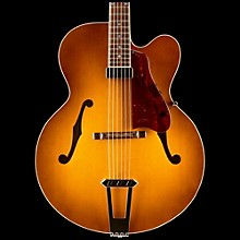 Gibson Custom Solid-Formed 17 Venetian Cutaway Archtop Hollowbody Electric Guitar Sunrise Tea Burst