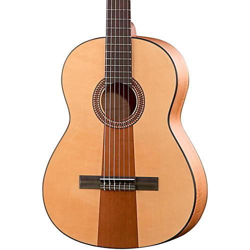 Hofner Solid Spruce/Cedar Top Aningr Body Classical Acoustic Guitar