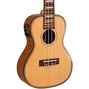 Solid Spruce Top Concert Ukulele with USB