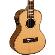 Solid Spruce Top Tenor Ukulele with USB