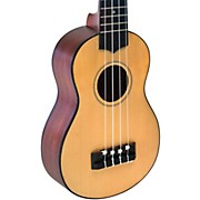 Solid Spruce Top TunaUke Equipped Soprano Ukulele