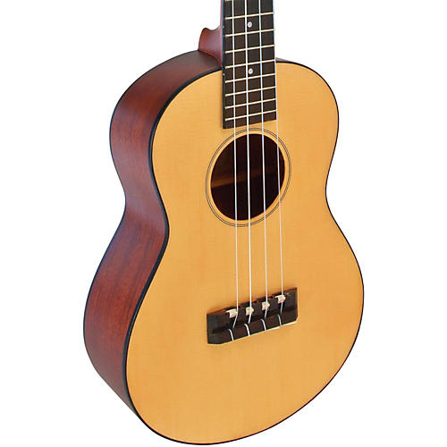 Lanikai Solid Spruce Top TunaUke Equipped Tenor Ukulele-thumbnail