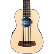 Kala Solid Top Acoustic Electric U-BASS