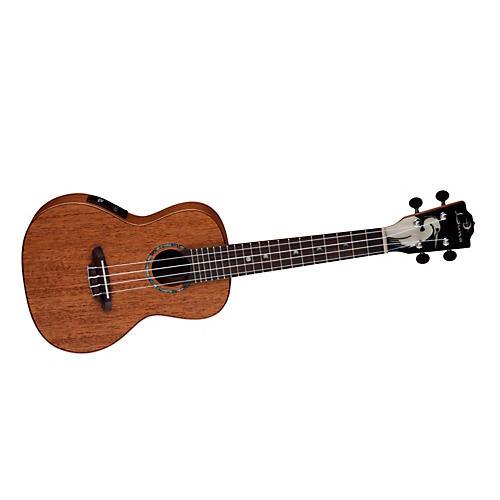 Luna Guitars Solid Wood Concert Acoustic-Electric Ukulele