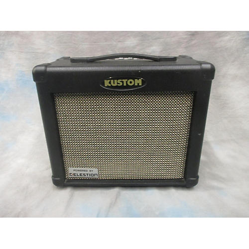 Kustom Solo 16R Black And Silver Guitar Combo Amp