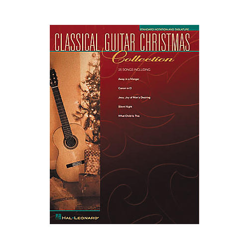 Hal Leonard Solo Classical Guitar Christmas Collection Book-thumbnail