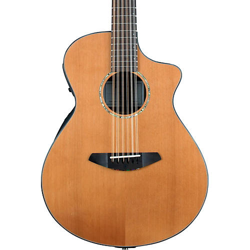 Breedlove Solo Concert 12-String Acoustic-Electric Guitar-thumbnail