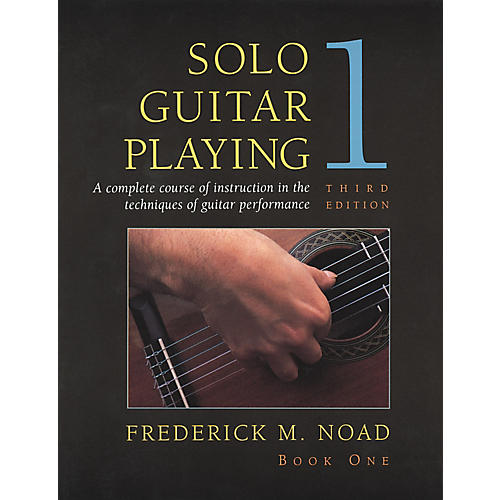 Music Sales Solo Guitar Playing Book 1
