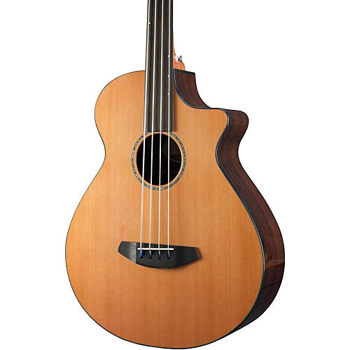 Breedlove Solo Jumbo Fretless Acoustic Bass-thumbnail