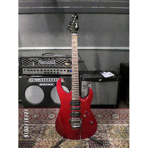 Cort Solo Series Solid Body Electric Guitar metalic red