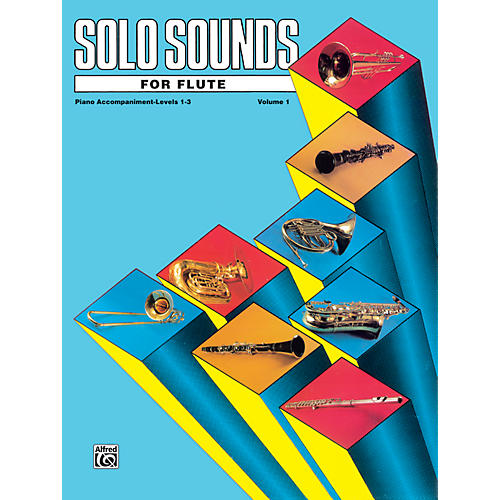 Alfred Solo Sounds for Flute Volume I Levels 1-3 Levels 1-3 Piano Acc.-thumbnail