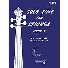 Alfred Solo Time for Strings Book 2 Piano Acc.