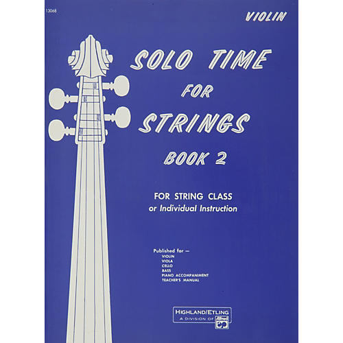 Alfred Solo Time for Strings Book 2 Violin-thumbnail