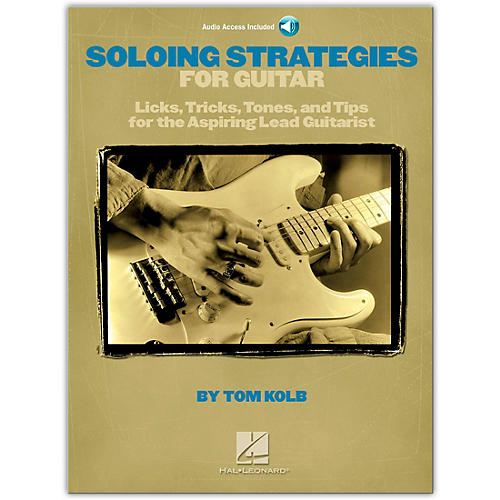 Hal Leonard Soloing Strategies for Guitar (Book/Online Audio)-thumbnail
