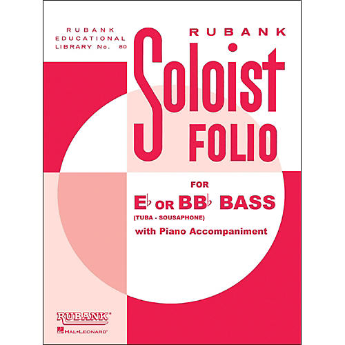 Hal Leonard Soloist Folios - Bass ( E Flat Or Bb Flat) And Piano-thumbnail