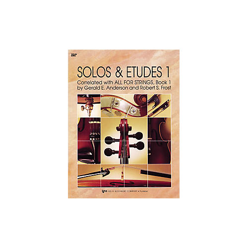 KJOS Solos And Etudes 1 All for Strings Violin Book-thumbnail