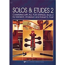 KJOS Solos And Etudes-BOOK 2/CELLO