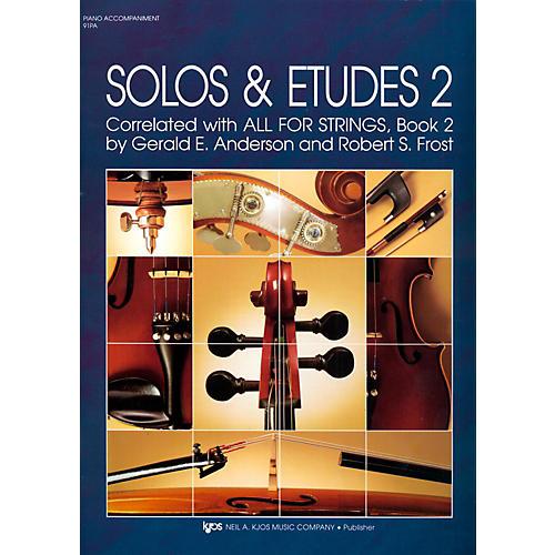 KJOS Solos And Etudes-BOOK 2/PIANO ACCOMP-thumbnail