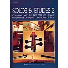 KJOS Solos And Etudes-BOOK 2/SCORE