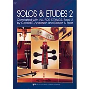 KJOS Solos And Etudes-BOOK 2/VIOLA
