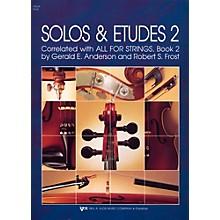 KJOS Solos And Etudes-BOOK 2/VIOLA