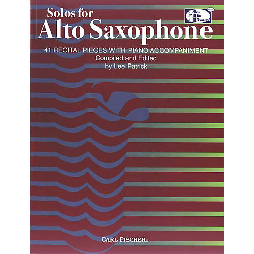 Carl Fischer Solos For Alto Saxophone Book-thumbnail
