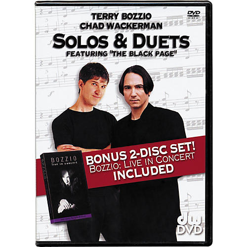 The Drum Channel Solos and Duets: Terry Bozzio and Chad Wackerman DVD-thumbnail