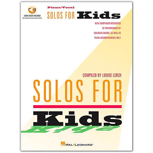 Hal Leonard Solos for Kids (Book/Online Audio)-thumbnail