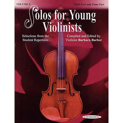 Alfred Solos for Young Violinists Violin Part and Accompaniment Vol. 2 (Book)-thumbnail