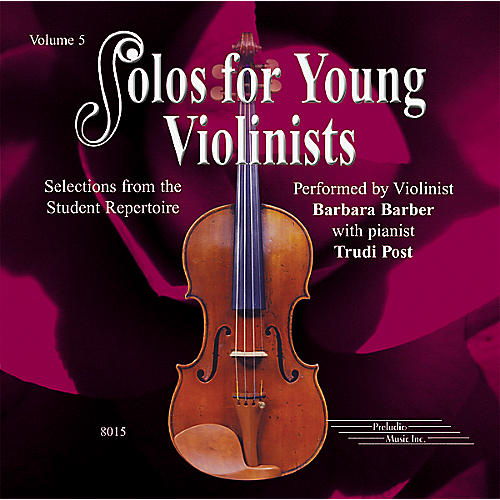 Alfred Solos for Young Violinists Vol. 5 (CD)