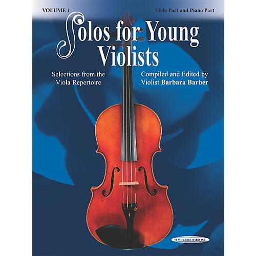 Alfred Solos for Young Violists Vol. 1 (Book)-thumbnail
